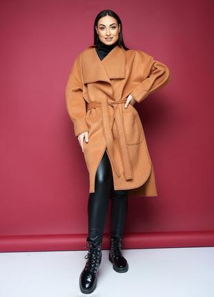 Пальто без подклада