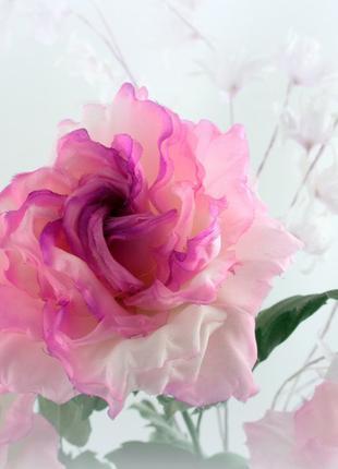 Обучение и  изготовление цветов из ткани и кожи