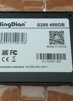 Новый SSD жесткий диск SATA3 2,5 на 480 ГБ