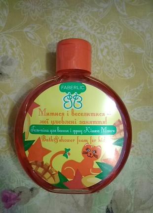 """Гель-пена для ванны и душа """"кошка манго"""""""
