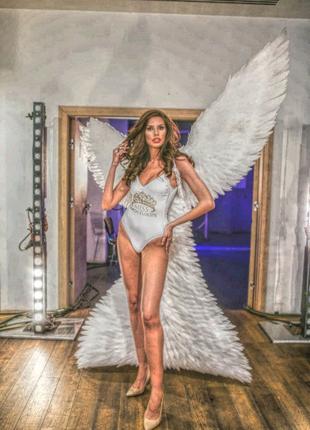 Крылья ангела, бабочки, феи, перья павлина, бусы, стразы, ткань