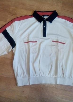 Поло длинный рукав кофта рубашка