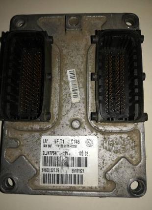Блок управления двигателем Фиат стило