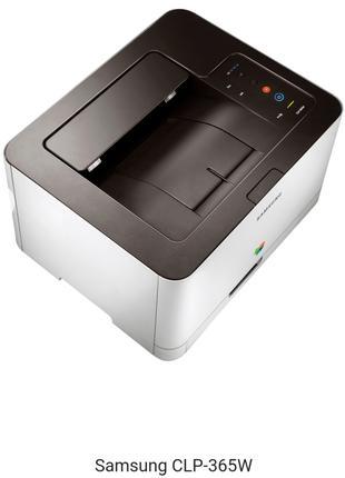 Принтер Цветной Лазерный Samsung CLP-365W
