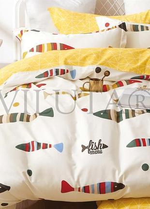 Постельное подростковое белье тм вилюта сатин-твил, постель