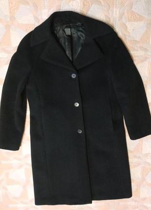 Пальто шерстяное бренд cinque размер 38