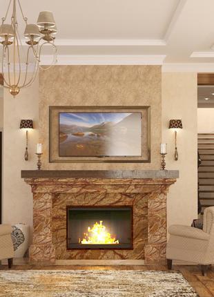 Дизайн интерьера и экстерьера, комплектация интерьера мебелью ...