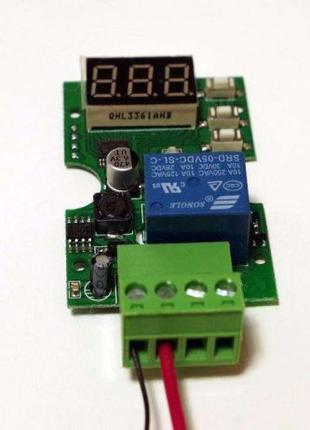 Реле контроля напряжения 6-30V, для зарядки, защиты аккумулятора