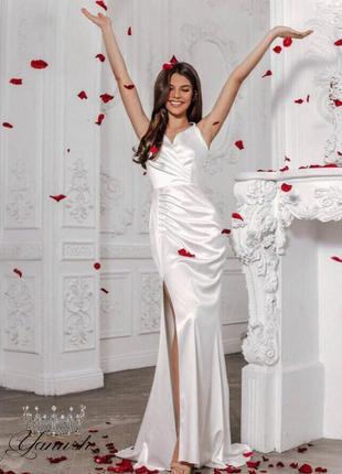 Платье можно как свадебное
