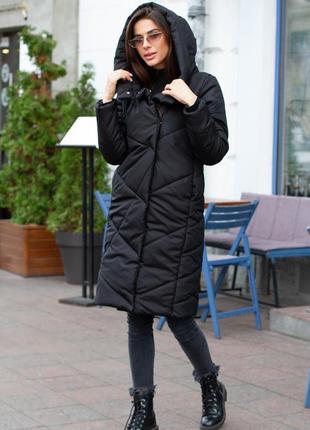 Куртка женская зима длинная