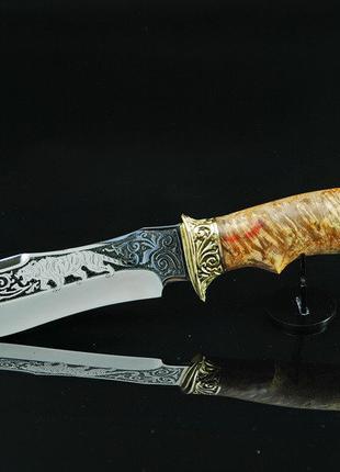Ножи для охоты ручной работы