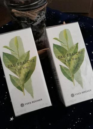 Yves roche, моно аромат зелений чай, 100мл