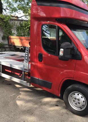 Доставка авто с Европи,по Украине, евакуатором, лафетой (2 машин)