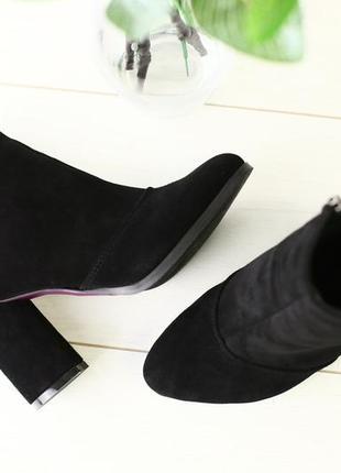 Lux обувь! распродажа! натуральные замшевые деми ботинки ботил...