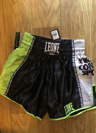 Шорты для тайского бокса итальянского бренда Leone