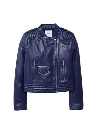 Натуральная кожа, новая кожаная куртка косуха mango, размер xs...