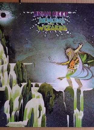 LP Uriah Heep - Demons And Wizards