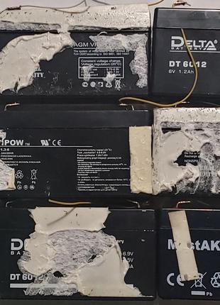 Аккумулятор ViPOW LP1.3-6 Delta DT6012 Mastak MT6012 Mastak MT613