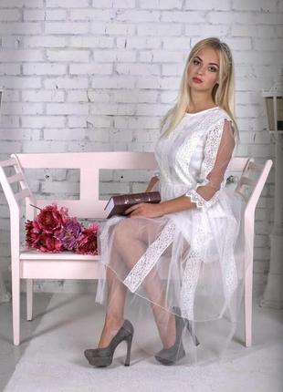 Платье свадебное, венчальное, вечернее