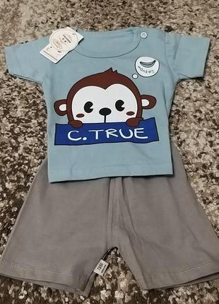 💥набор футболка+шорты💥