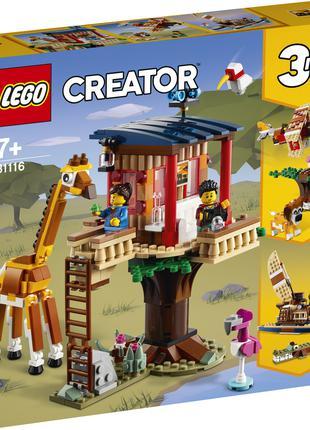 Конструктор LEGO Creator 31116 Домик на дереве для сафари на 3...