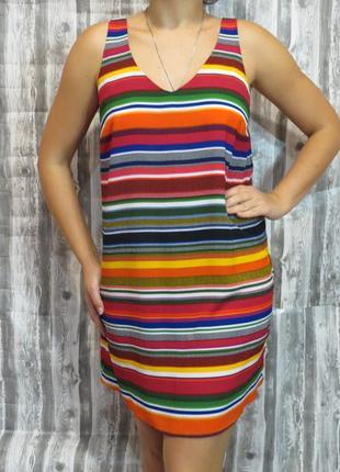 Супер летний сарафан 14 размер. большой выбор модной одежды.