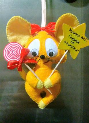 Игрушки из фетра, сувенир