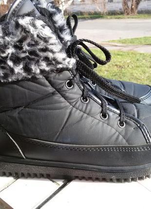 Зимние ботинки на шнуровке германия