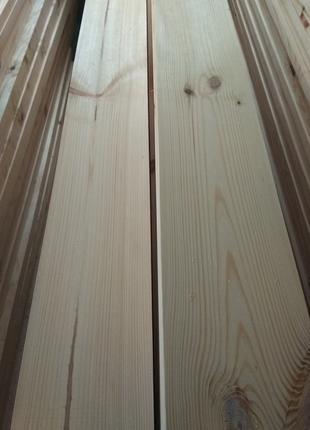Доска строганная сухая шлифованная калиброванная 20х140 20х150 мм