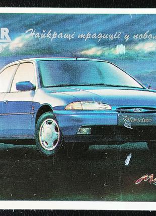 Календарик Форд Мондео - Ford Mondeo, 1994