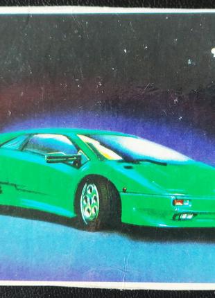 Календарик Lamborghini Diabolo - Ламборджини, 1996
