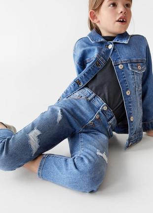 Базова джинсова куртка, zara! оригінал з німеччини!