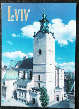 Календарик Lviv 2001, Львiв