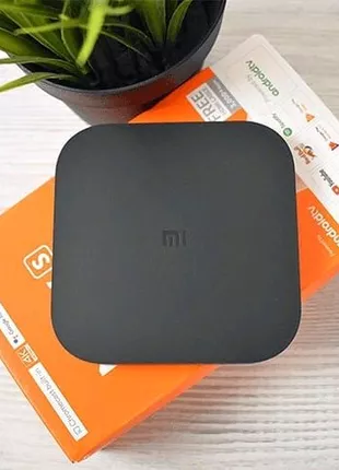ТВ-приставка Xiaomi Mi Box S 4K 2/8GB Black