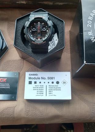 Часы Casio G-Shock GA-100GBX-1A. 100 % Оригинал абсолютно новые.