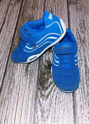 Фирменные кроссовки lonsdale для мальчика, размер 12