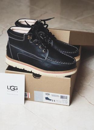 Мужские зимние ботинки ugg david beckham boots black 40-44р.