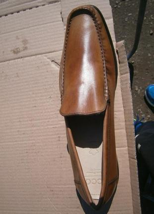 Туфлі ecco оригінал натуральна кожа