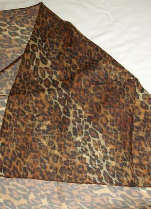 Платки женские оригинальные леопард новые