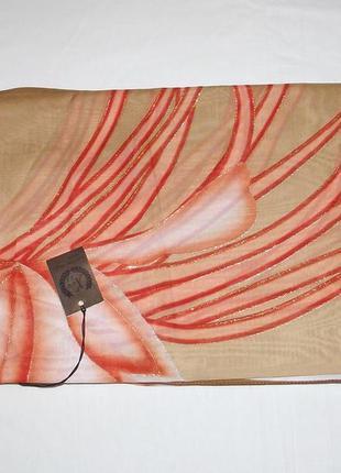 Платки женские оригинальные с блестками новые шифон