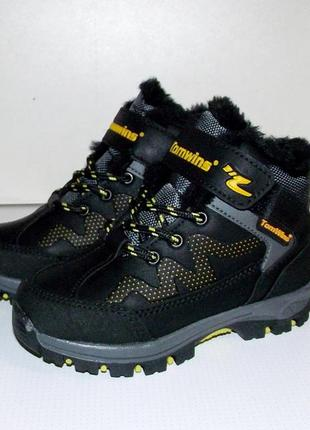 Зимние ботинки кроссовки на меху tomwins турция
