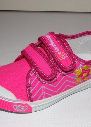 Мокасины кеды super gear розовые девочкам венгрия 24-29