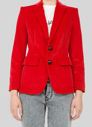 Тренд. вельветовый пиджак