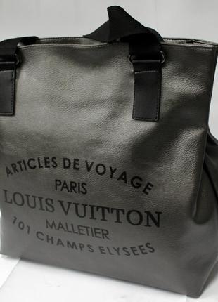 Женская сумка, стильная сумка, ручная кладь, эко кожа, сумка