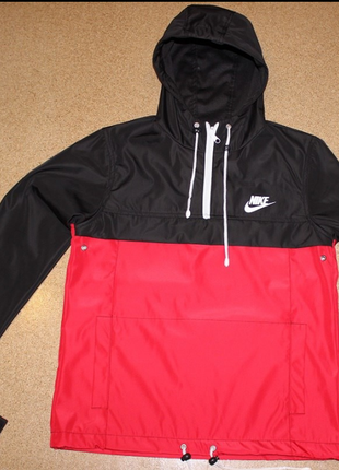 Куртка-дождевик анорак с логотипом nike. s - xl