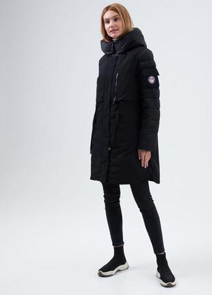 Зима 2020! модная зимняя куртка парка clasna cw19d-219cw