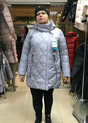 Зимняя куртка mishele больших размеров