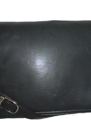 Стильная сумка натуральная кожа для мужчин red point