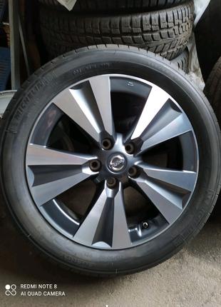 Диски литые оригинал Nissan Leaf R17(5*114,3)et45+215/50/17 Miche