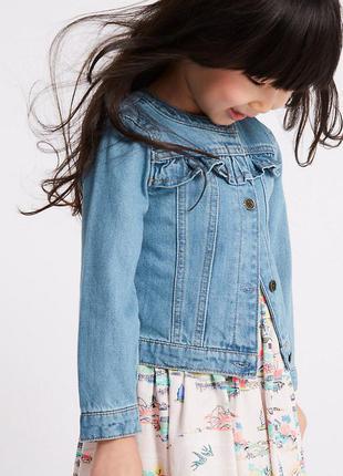 Стильный коттоновый пиджачек на красотку